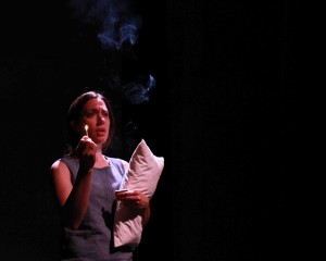 Alexa Devine as E in Re:Union