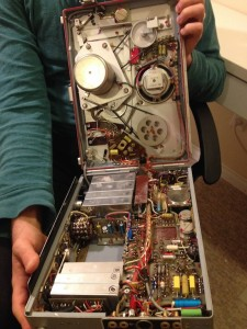 Inside the Nagra: beautifully complex and colorful.